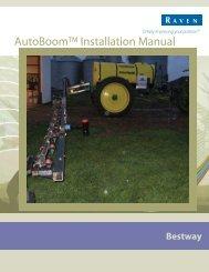 AutoBoom™ Installation Manual - StellarSupport