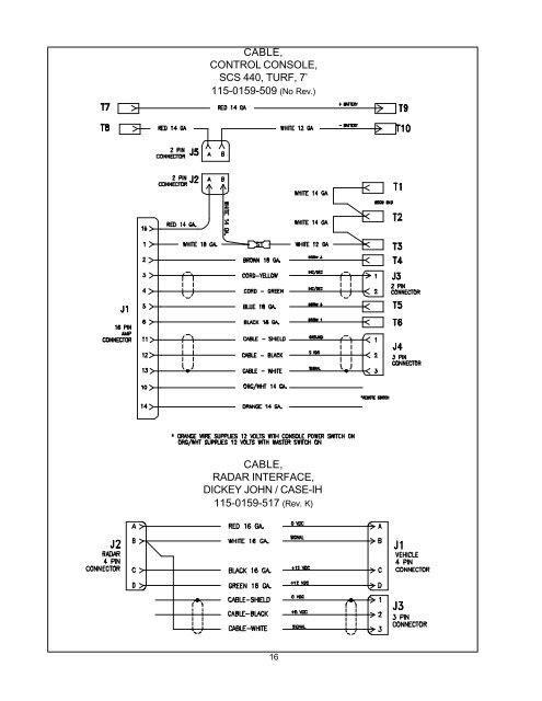 cable, f  raven 440 wiring diagram schematics