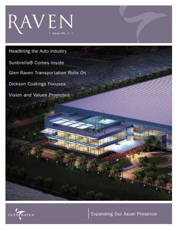Raven Issue No. 1 - Glen Raven, Inc