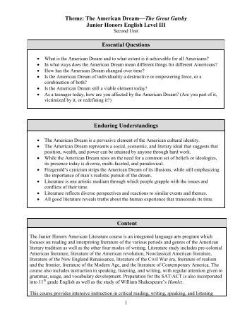 how to start an essay about the american dream This is a good example essay on american dream free sample essay paper about american dream at good example papers resource read the following example to create a good essay.