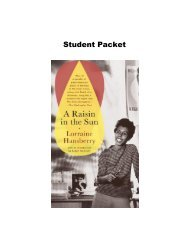 A Raisin in the Sun Student Packet.pdf