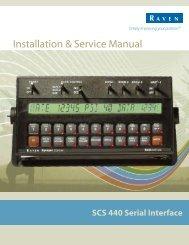 Installation & Service Manual - Raven