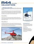 R44 Brochure - Robinson Helicopter Company - Page 2