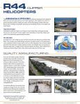 R44 Brochure - Robinson Helicopter Company - Page 6