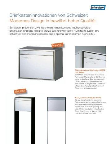 pdf, 196 KB - Schweizer Metallbau