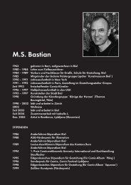 Biografie M.S. Bastian als PDF - Atelier Reichlin, Spezialist für ...
