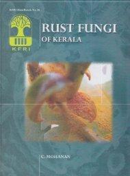 Rust Fungi of Kerala - Kerala Forest Research Institute