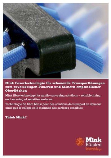 Mink Fasertechnologie für schonende ... - Interempresas