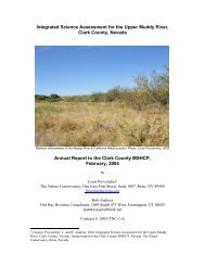 FULL Annual Report - Clark County Nevada