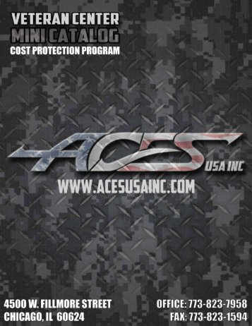 ACES Mini Vet Center Catalog