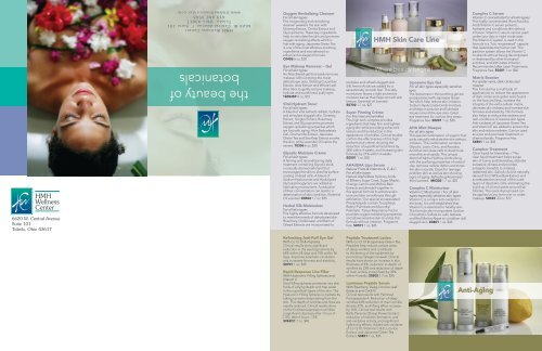 Spa Products - HMH Wellness Center