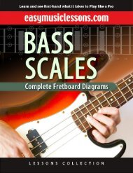 Download Bass Scales eBook - Easy Music Lessons