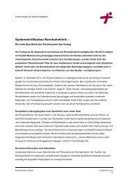 Spatenstich/Neubau Rennbahnklinik – - Praxisklinik Rennbahn ...