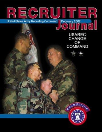 Feb RJ - USAREC - U.S. Army