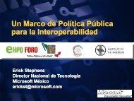 Un Marco de Política Pública para la Interoperabilidad