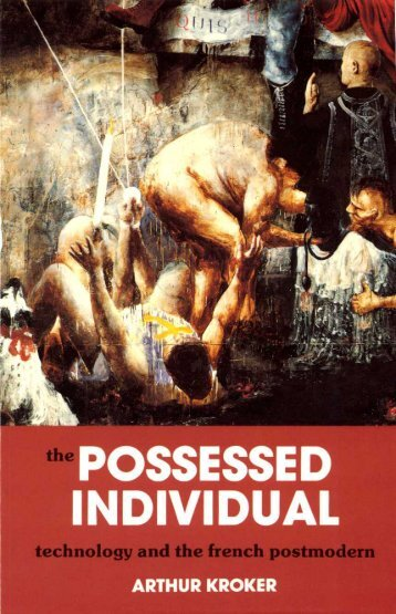 The Possessed Individual.pdf - Information Technology