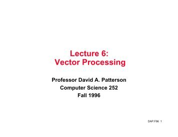 Lecture 6 b computer science - Div computer science ...