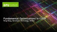 Fundamental Optimizations in CUDA - Nvidia
