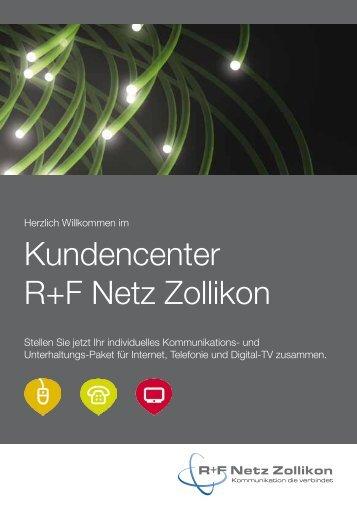 Kundencenter R+F Netz Zollikon