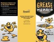 Grease Menace brochure - City of Bremerton