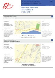2012 FLYER-Vermietstationen Stations de location ... - Rent a Bike