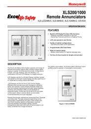 0820- XLS200/1000 Remote Annunciators XLS-LCDANN-E, XLS ...