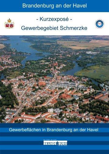 und Gewerbegebiet Schmerzke - Brandenburg an der Havel