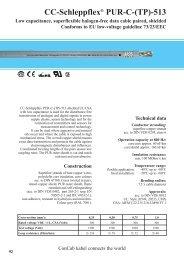 CC-Schleppflex® PUR-C-(TP)-513 - ConCab kabel gmbh
