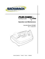 10-Inch Bacharach 1509-0003 IEQ Chek Probe with 30-Inch Sample Tubing