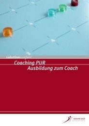 Coaching PUR Ausbildung zum Coach - Gerwin Baier