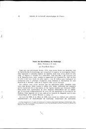 Faune des Nycteribiidae du Cambodge (Dipt. Pupipara) : 2e ... - IRD