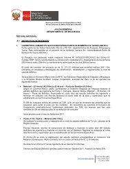 Moquegua Abril 2011 - Provias Nacional