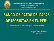 Diapositiva 1 - Cismid - Universidad Nacional de Ingeniería
