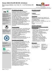 Hesse UNA-COLOR DB 555 -(Farbton) - Hesse Lignal