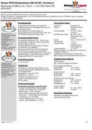 Hesse PUR-Glasfarblack DB 42105 -(Farbton) - Hesse Lignal