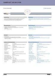 kaweflex 3333 sk-c-pur kaweflex 3333 sk-c-pur - TKD KABEL GmbH