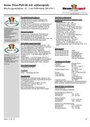 Hesse Thixo-PUR DE 433 -x(Glanzgrad) - Hesse Lignal