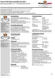 Hesse PUR Naturholzeffekt DA 400-1 - Hesse Lignal