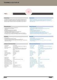 trommelflex pur-hf - TKD KABEL GmbH