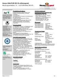 Hesse UNA-PUR DE 55 x(Glanzgrad) - Hesse Lignal