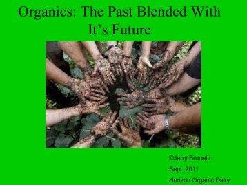 Organics - North American Devon Association