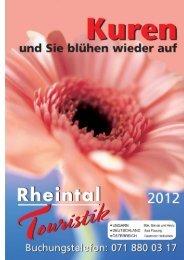 Katalog gesamt 2012 - Rheintal Touristik GmbH