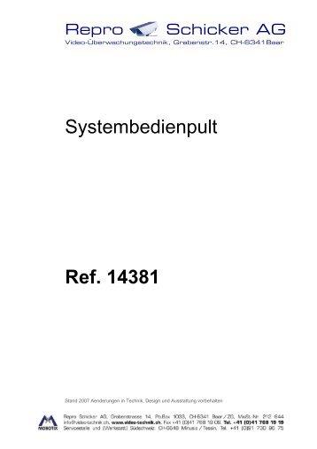 Installationsanleitung - Repro Schicker AG