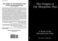 The Origins of Om Manipadme HUm