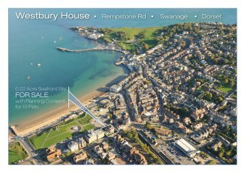 Westbury House • Rempstone Rd • Swanage • Dorset - J Peiser ...