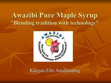 Awazibi Pure Maple Syrup - Iddpnql.ca