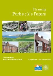 Planning Purbeck's Future - Dorsetforyou.com