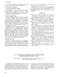 33.2. Calcareous Nannofossil Age Determinations, Deep Sea ...