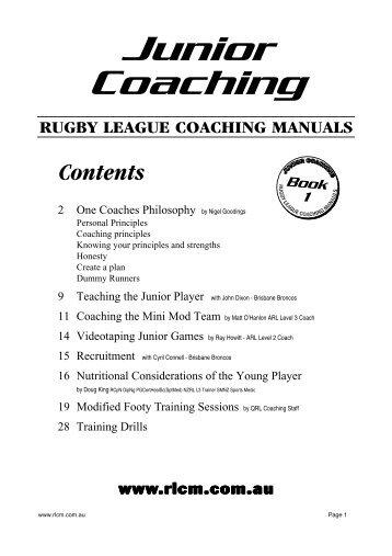 www rlcm com au rugby lea rh yumpu com Wayne Bennett Young Rugby League Wayne Bennett