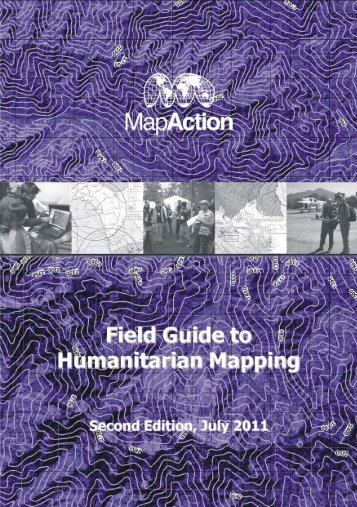 Field Guide to Humanitarian Mapping - MapAction